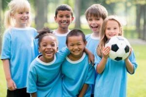 Children staying Active